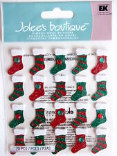 JOLEE'S BOUTIQUE STICKERS - STOCKING REPEATS Christmas