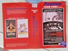 WHEN A STRANGER CALLS-ROADSHOW HOME VIDEO-ORIGINAL RELEASE VHS/PAL