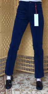 Amazing Woman Stretchy Indigo 02 Cord Jeans, Slim leg  Size 8/33 NEW w/tags