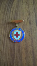 RED CROSS YOUTH SURVIVAL MEDAL/BADGE/PENDANT