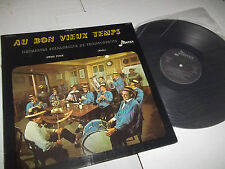 AU BON VIEUX TEMPS RARE SWISS FOLK LP FRONTIER/BARCLAY FRENCH PRESSING 1972 NM