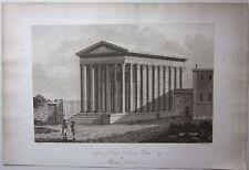 1794 TEMPLE OF CAIUS LUCIUS JULIUS CAESAR OR MAISON CARRÉE A. Beaumont Apostool