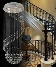 6 Lights Fancy/Modern Contemporary Chandelier Rain Drop Helix Fixture Lighting