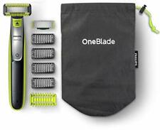 Tondeuse Barbe Philips OneBlade Visage Corps Sabot Clipsable