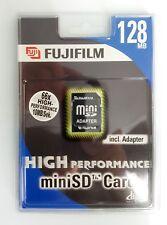 FUJIFILM Carte Mini SD 128 MB