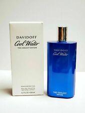 Cool Water by Davidoff, 6.7 oz Eau De Toilette Spray for Men New  TESTER In Box