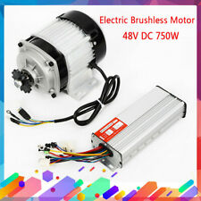 Brushless Electric Scooter Motor Controller 48V 750W For E-Bike Diy Tricycle Us