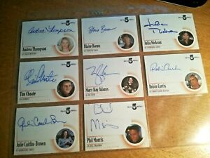 Babylon 5 Complete - Autograph Card A8. Mary Kay Adams as Na'Toth. Mint 2002