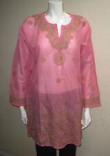 Maglie e camicie da donna rosa floreale taglia XL