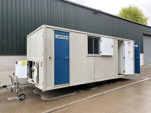 12 Man towable Self Contained welfare Unit twin axle, Site Cabin, Welfare Cabin