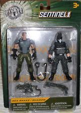 2017 True Heroes Sentinel 1 Soldier 2-Pack Sea Snake & Shadow 3.75 inch plastic