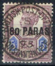 Used Victoria (1840-1901) British Levant Stamps (Pre-1922)