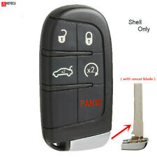 Remote Key Shell Case Fob 5BTN for Fiat 500L Jeep Renegade 2015 2016 2017 2018