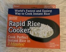 Rapid Rice Cooker, New