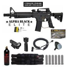 Tippmann US Army Alpha Elite E-Grip Tactical Red Dot Paintball Gun Package