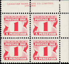 Scott # J28 - 1969 - ' Postage Due '; 20 x 15¾mm (Upper Right)