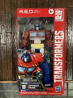 Hasbro Transformers R.E.D. Optimus Prime Action Figure