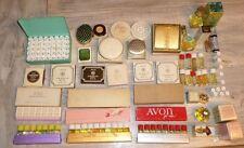 VTG Avon Lot Perfume Rare Lipstick Compact powder  60's 70's Demonstrator Packs