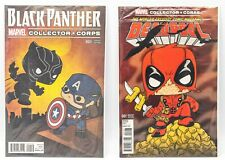 Marvel Collector Corps Black Panther & Deadpool Comic Book  #001 Variant Edition