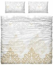 Versace 19.69 Gold Duvet Cover & 2 Pillow Case For KingsizeBed 150cm 100% Cotton
