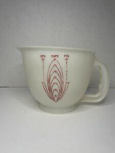 Vintage Tupperware Mix N Store 8 Cup 2 Quart Measuring Bowl #500 No Lid