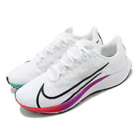 Nike Air Zoom Pegasus 37 White Black Hyper Violet Men Running Shoes BQ9646-103