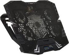 Vultech Base per Notebook Sn-05 Nera con Ventola e USB