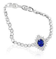 Swarovski Palace Bracelet Blue Rhodium Plated 5498834