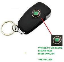 2x VRS Badge Emblem Sticker Logo Skoda Key Fob Remote Fabia Rapid Octavia Superb