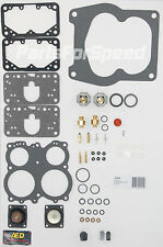AED 4165 Holley Rebuild Kit Double Pumper Spreadbore Carb + 50cc Diaphragm
