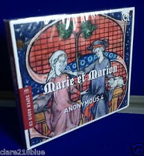 NEW SEALED - Marie et Marion Anonymous 4 Motets & Chansons from 13th Century