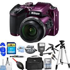 Nikon COOLPIX B500 Digital Camera (Purple) PRO BUNDLE BRAND NEW