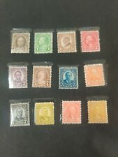 #632-42,653 1926-34 PERF 11X10 1/2 ISSUE MINT.