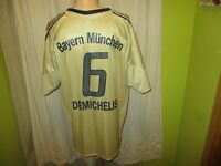 FC Bayern München Adidas Auswärts Trikot 2004/05 + Nr.6 Demichelis Gr.XL