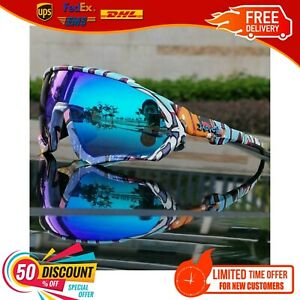 Riding Cycling Sunglasses UV Polarized Sports Cycling Glasses Goggles Bicycle