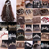 Charm Bride Tiara Crown Rhinestone Crystal Pearl Hair Hoop Headband Wedding