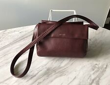 Matt & Nat Burgundy Purple Bag purse Crossbody Strap 3 pocket