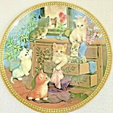 Bradford Exchange Tender Tails 2006 8� Collector's Plate Mirror Image 2nd Issue