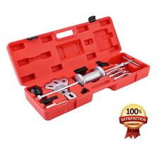 9-Way Slide Hammer Axle Bearing Dent Hub 2/3 In/External Gear Puller Tools Kit