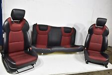 2009-2012 Hyundai Genesis Coupe Seat Set Assembly Front & Rear Left Right 09-12