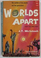 WORLDS APART J  MCINTOSH 1958 AVON #T249 1ST ED PAPERBACK POWERS COVER ART