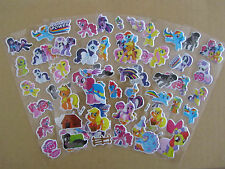 5 pieces My little pony Fun Puffy 3D Cartoon Kids Girls / Boys Craft Stickers