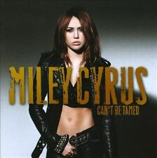 Can't Be Tamed by Miley Cyrus (CD, Jun-2010, Hollywood) brand new