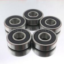 5PCS 6004-2RS 6004RS Deep Groove Rubber Shielded Ball Bearing (20mm*42mm*12mm)