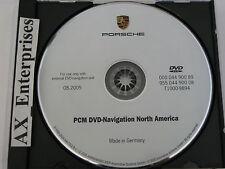 05 Porsche Cayenne Sport S Turbo PCM 2.0 Navigation DVD # 900 89 Map © 08.2005
