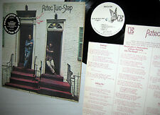 AZTEC TWO STEP self titled WHITE LABEL PROMO LP with 2 inserts in great shape