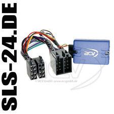 Alpine VOLANTE Telecomando Adattatore Peugeot 206 307 406 607 807 partner ISO STEC