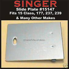 SINGER Bed Slide/Bobbin Cover Fits 15 Class 15-91 237 239 293B and more # 15147