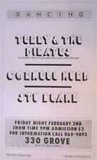 Terry Dolan, John Cippolina & Greg Douglas | Orig. 1995 Concert Poster