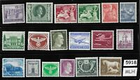 #5918    Mixed MLH stamp group / Adolph Hitler / Third Reich Germany Postage